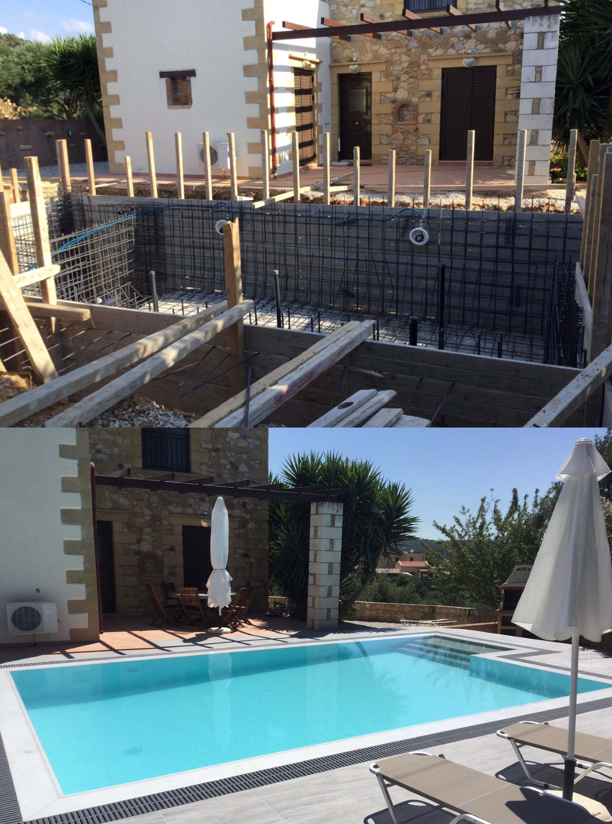 Swimming Pools - Your Home on Crete, Real Estate Agency